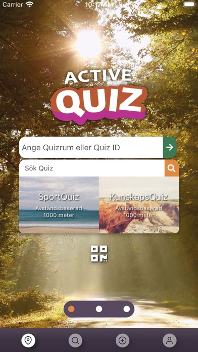 Screenshot of AQ - Walk Yourself Smarter App