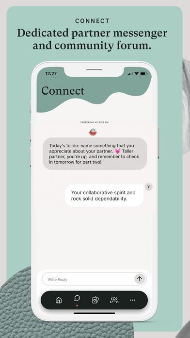 Coral: Relationship self-care screenshot four
