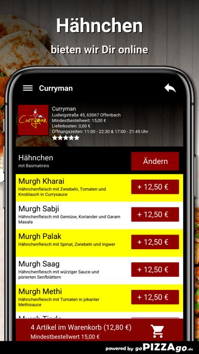 Curryman Offenbach screenshot 5