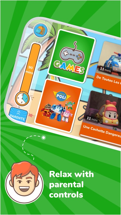 Kidjo: Kids TV & Video Channel screenshot-3
