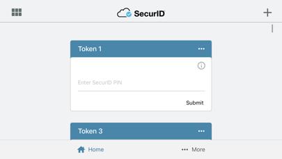 RSA SecurID Software Token iPhone app afbeelding 3