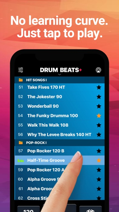 Drum Beats+ Rhythm Machine Screenshots