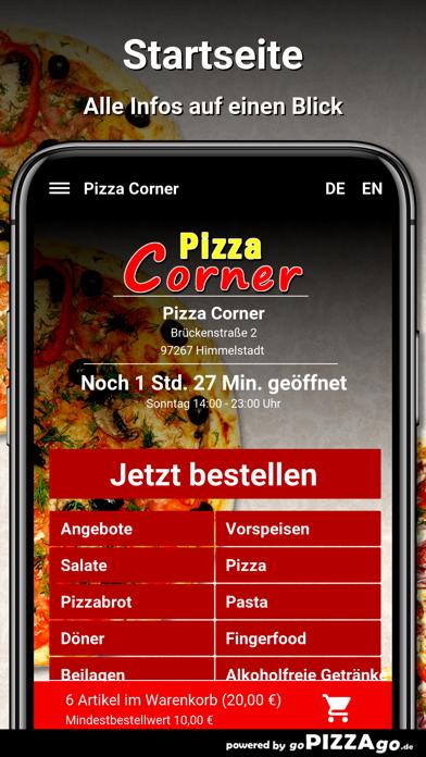 Pizza Corner Himmelstadt screenshot 2