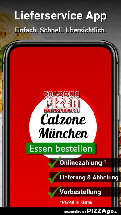Calzone-Pizza München screenshot 2