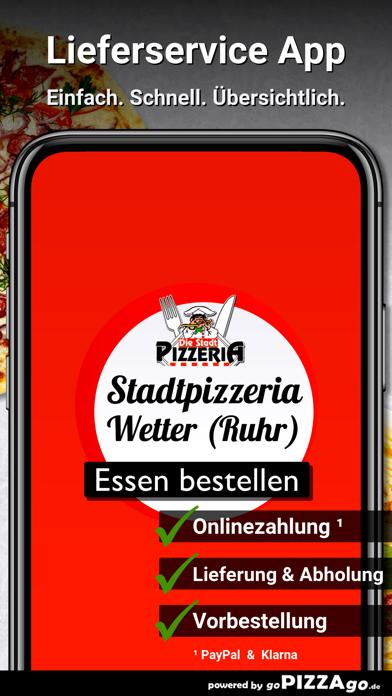 Stadtpizzeria Wetter (Ruhr) screenshot 1