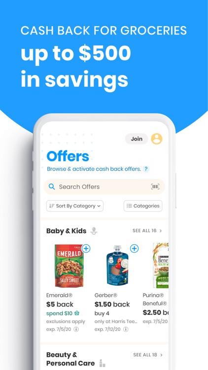 Coupons.com: Shop & Earn Cash
