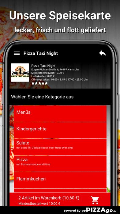 Pizza Taxi Night Karlsruhe screenshot 4