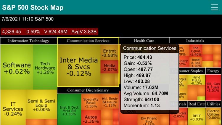 S&P 500 Stock Map screenshot-8