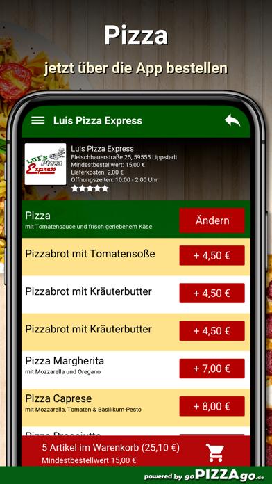 Luis Pizza Express Lippstadt screenshot 5