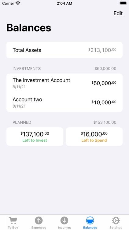 Money Zen - expense tracker screenshot-3
