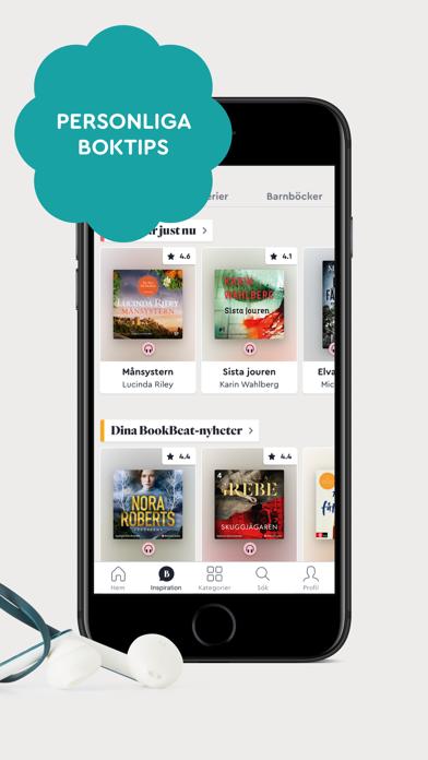 BookBeat Ljudböcker & E-böcker på PC