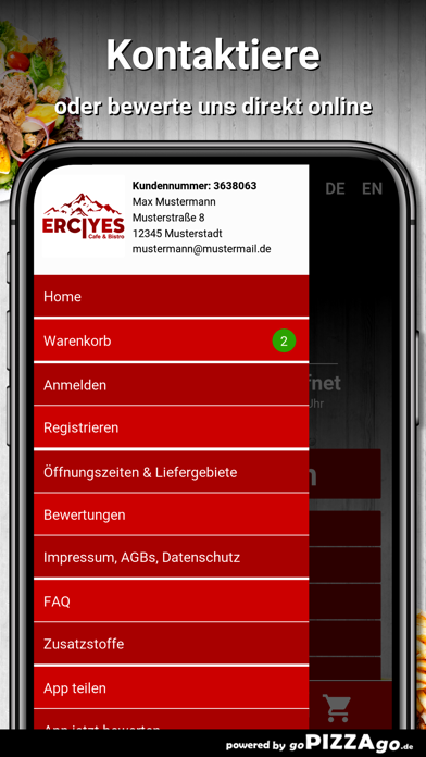 Cafe Bistro Erciyes Bayreuth screenshot 3