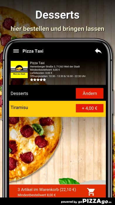 Pizza Taxi Weil der Stadt screenshot 6