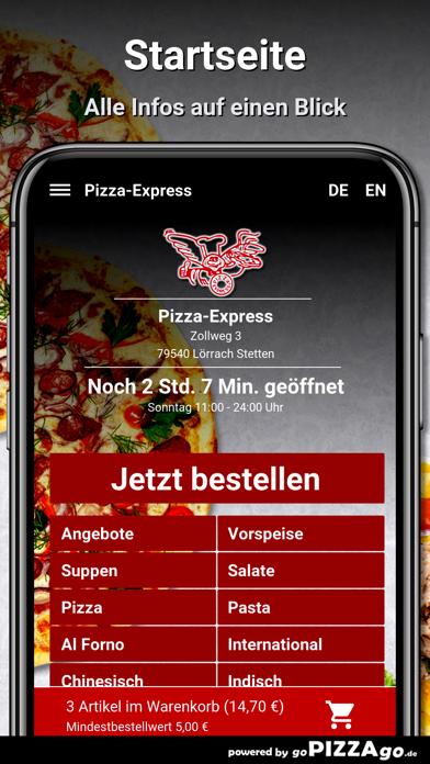Pizza-Express Lörrach Stetten screenshot 2
