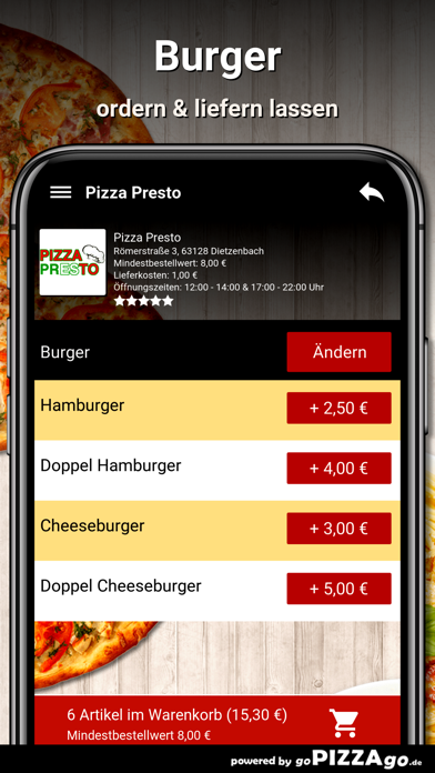 Pizza Presto Dietzenbach screenshot 6
