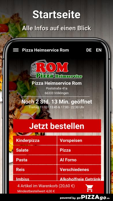 Pizza Rom Völklingen screenshot 2