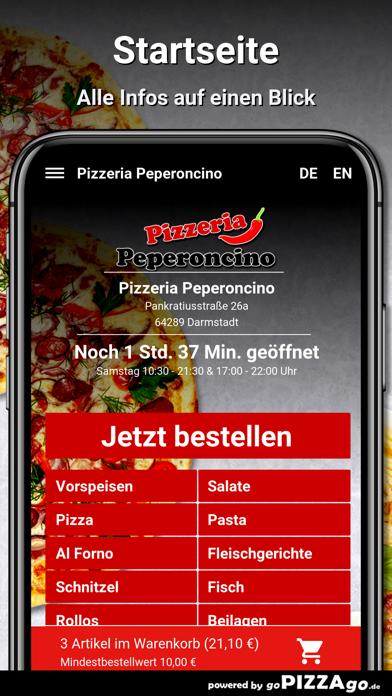 Pizzeria Peperoncino Darmstadt screenshot 2