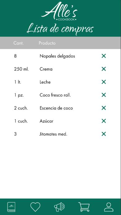 Recetario - Alle's Cookbook screenshot 7