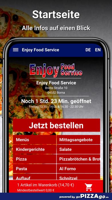 Enjoy Food Service Borna screenshot 2