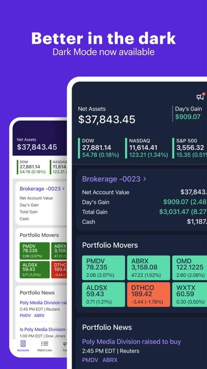 E*TRADE: Invest. Trade. Save. screenshot-5