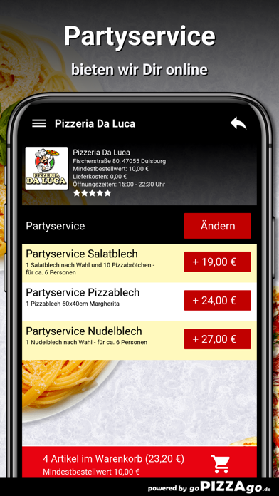 Pizzeria Da Luca Duisburg screenshot 5