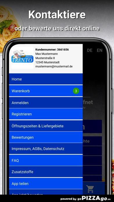 Pizza-Trento München screenshot 3