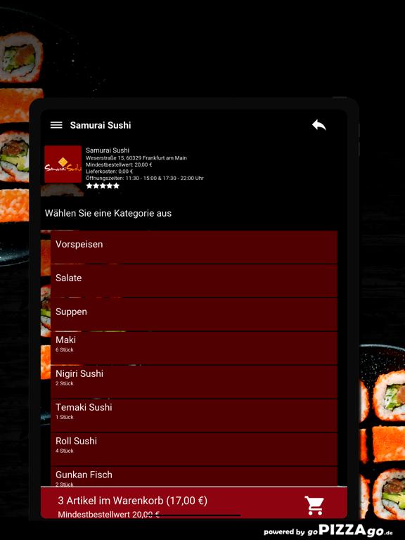 Samurai Sushi Frankfurt screenshot 8