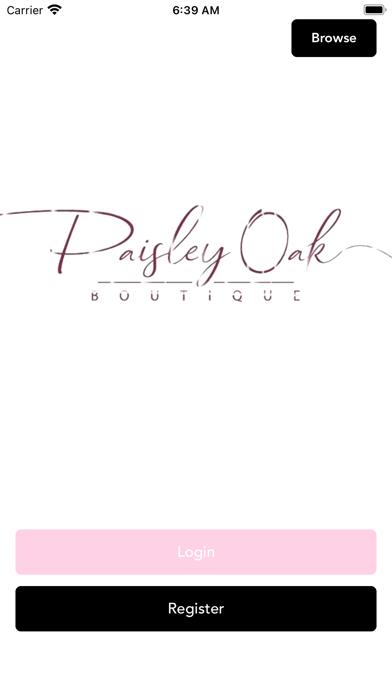 Paisley Oak Boutique screenshot 1