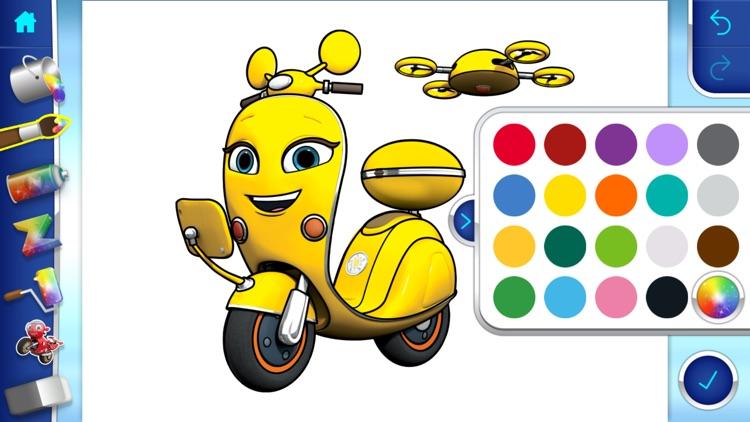 Ricky Zoom™: Paintbox screenshot-4