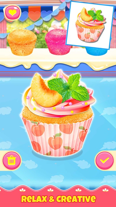 Cupcake Games: Casual Cooking screenshot 4