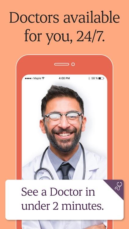 Maple - 24/7 Online Doctors screenshot-0