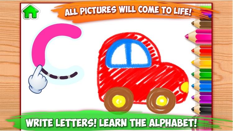 ABC Tracing Kids Drawing Games screenshot-0