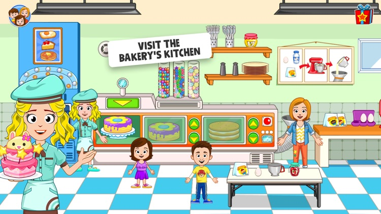 My Town : Bakery screenshot-2