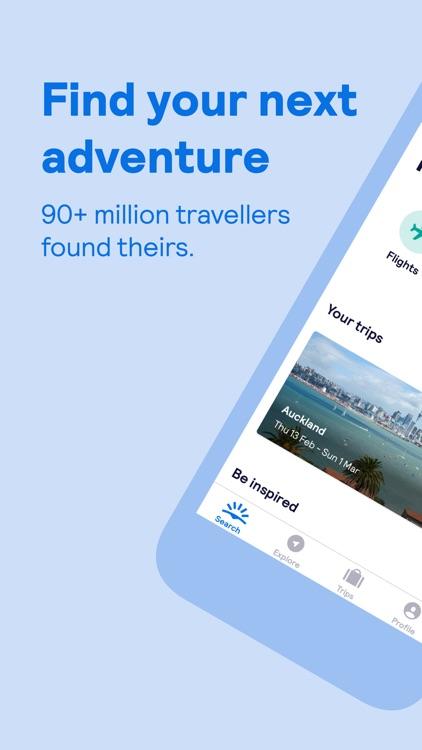 Skyscanner – travel deals screenshot-0