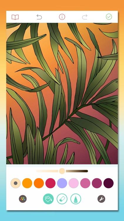 Pigment - Adult Coloring Book screenshot-5