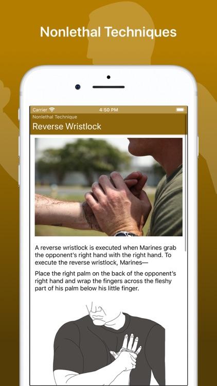Marine Martial Arts screenshot-8