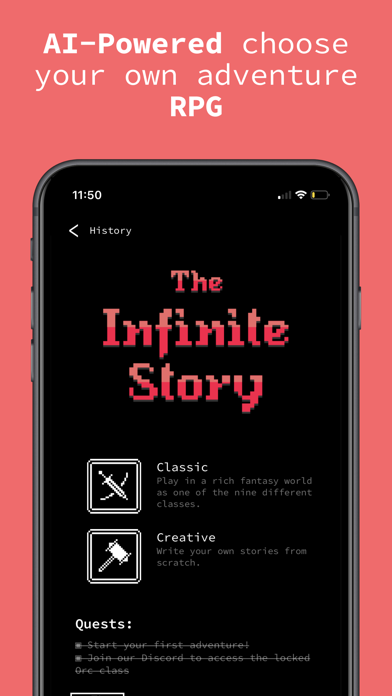 The Infinite Story for windows pc