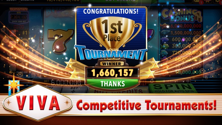 Viva Slots Vegas Slot Machines screenshot-4