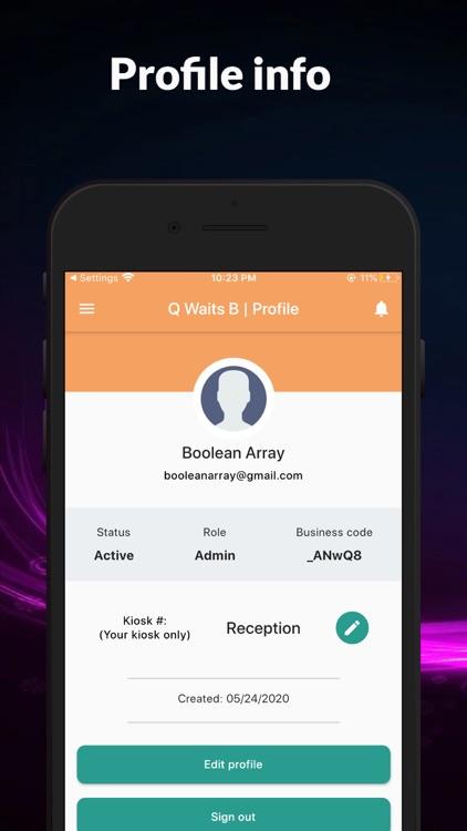 Q Waits B: virtual queue mgmt screenshot-5