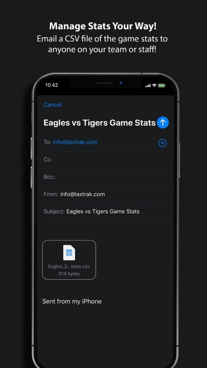 LaxTrak - Lacrosse Game Stats screenshot-9