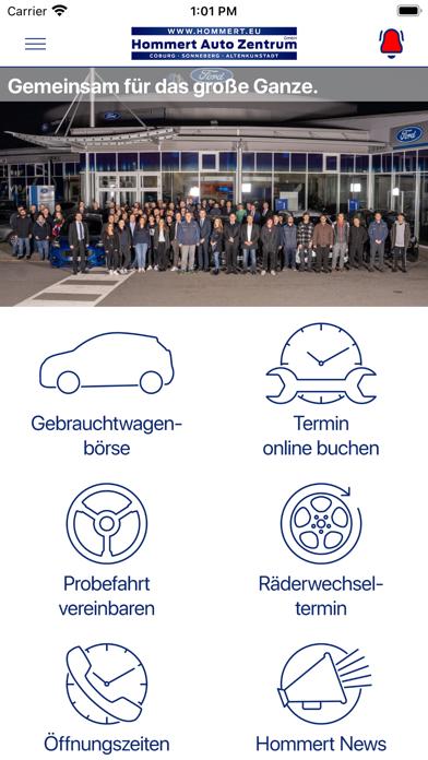 Hommert Auto Zentrum GmbH screenshot 1