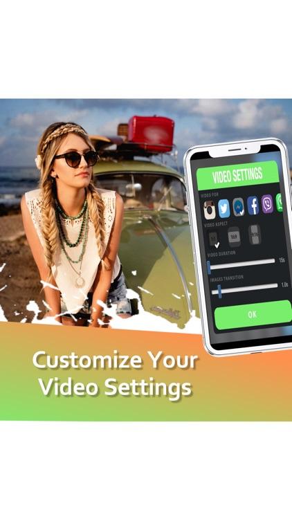 Vidco - Photo Slideshow Maker screenshot-5