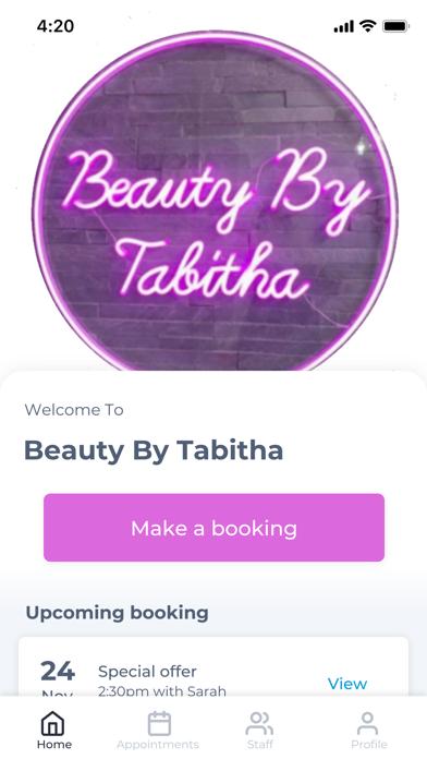 Beauty By Tabitha screenshot 1