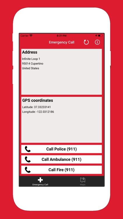 Emergency Call - International