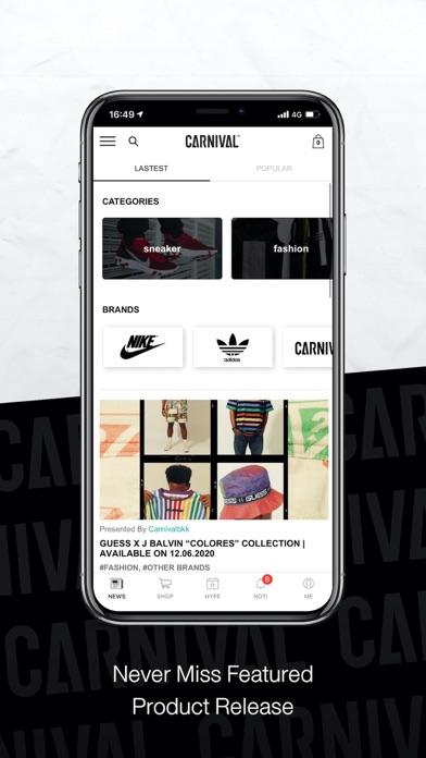 cancel Carnival app subscription image 1