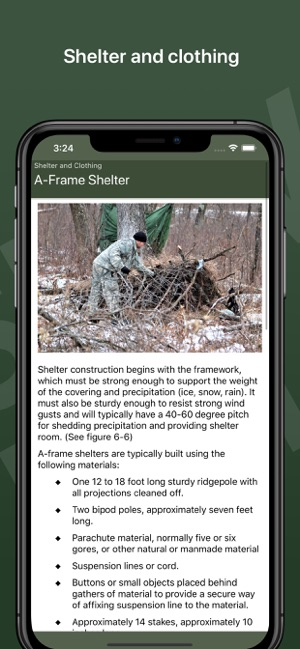 Army Survival Skills on the App Store