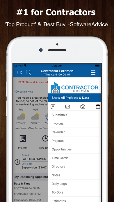 messages.download Contractor Foreman software