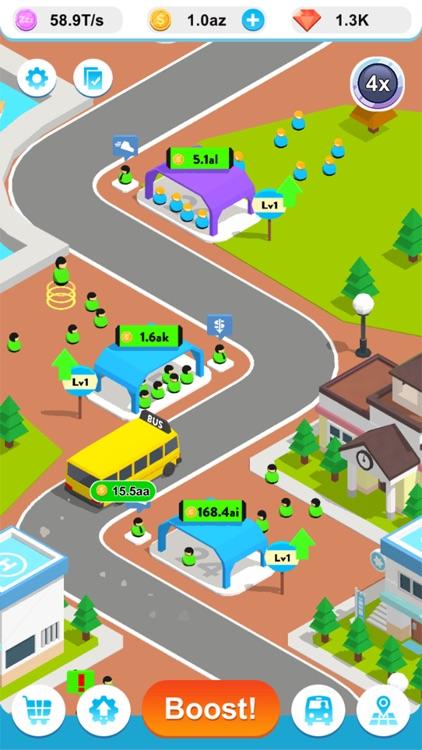 Idle Bus 3D ! screenshot-3