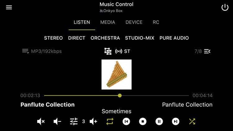 Enhanced Controller for Onkyo