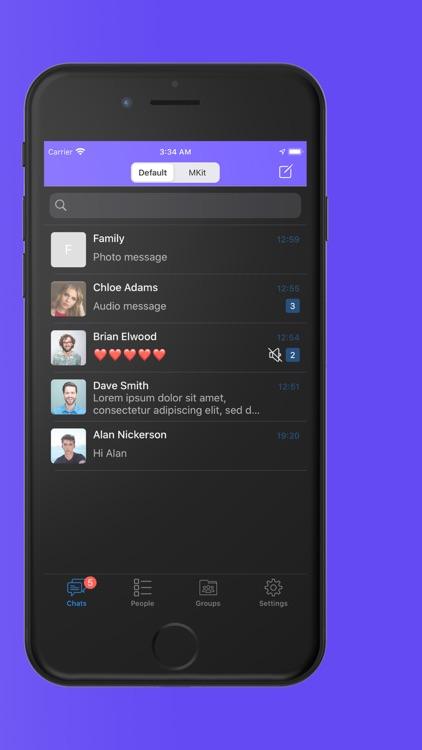 Monkey GO - Instant Messenger screenshot-3